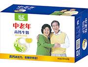 优佳乳业中老年高钙牛奶