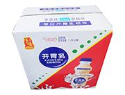 宝圆斋开胃乳原味乳酸菌饮品1.25L×6瓶