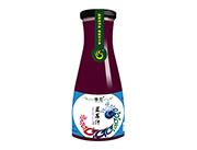 傣恋蓝莓汁饮料1L玻璃瓶