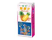 傣恋果园菠萝果汁1L利乐纸盒装