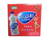益和源乳酸菌饮品蓝莓味1.25lx6瓶