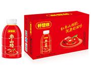 好想你枣山楂红枣山楂果肉饮料380ml×15瓶