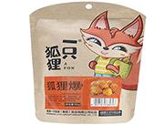 一只狐狸狐狸爆 爆米花