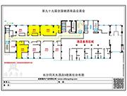 同天大酒店5楼平面图