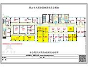 同天大酒店4楼平面图
