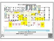 同天大酒店1楼展位平面图