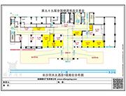 同天大酒店1楼平面图
