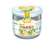 中绿香梨片