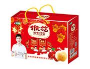 浩明猴菇养生红枣风味饮品开窗大礼盒
