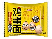 壹��味麻辣�u蛋面80克