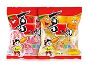 喜之郎香橙味+草莓味果冻90g