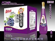 好友趣蓝莓汁828mlx8支