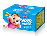 养元优品优优萌宝含乳饮品200mlx12罐蓝