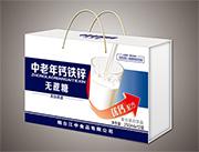 烟台江中中老年钙铁锌无蔗糖饮品250mlx12盒