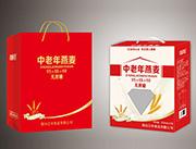 烟台江中中老年燕麦钙铁锌饮品250mlx12盒