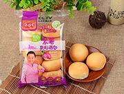 梁福吉紫薯夹心面包200克