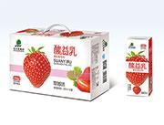 北大荒酸益乳250ml*20盒草莓味