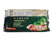 徒河黑猪肉白菜馅水饺400g