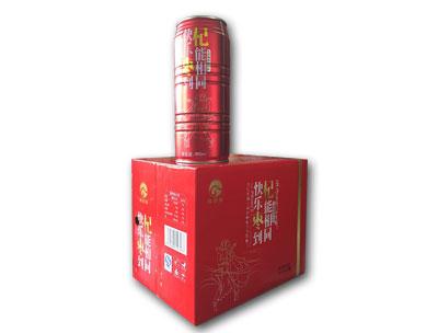 君源饮品红枣枸杞饮料箱装展示