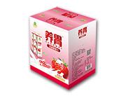 味臻养胃乳酸菌果汁草莓味1000ml*6瓶