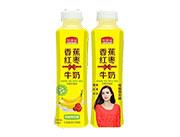 ���M福香蕉�t��牛奶500ml