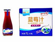 恒爱蓝莓汁1lx6瓶
