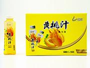 恒爱黄桃汁500lx15瓶