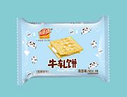 润德康超软牛轧发酵饼干海苔味称重