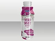 完达山果粒奶珍发酵型乳味饮料280ml紫