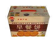 新五条早餐饼干