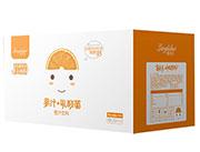 郎利多乳酸菌橙汁箱子