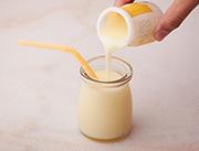 千家赞迷你奶味饮品菠萝味展示