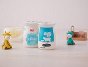 千家赞迷你奶味饮品原味展示