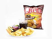 Qtela Q乐薯木薯片 BBQ味185克