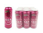水蜜桃果味碳酸饮料490ml