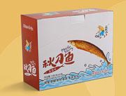 追鱼人秋刀鱼盒装15克/包*20包五香味