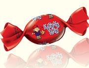 三福卡通水果糖(红色)