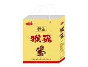 起成果园养生猴菇饮品手提袋