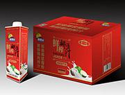 椰果园鲜榨椰汁600mL红色方盒装