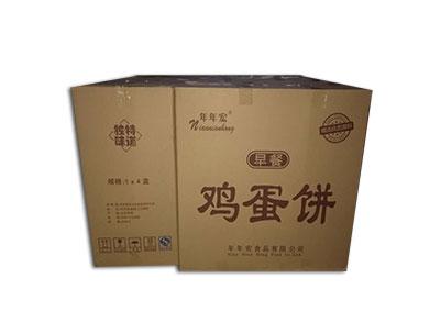 东明年年宏鸡蛋饼礼盒周转箱