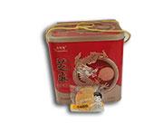 东明年年宏芝麻片铁礼盒