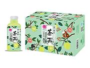 优贝源茶π柚子绿茶500ml×15瓶