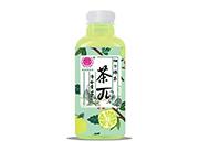 优贝源茶π柚子绿茶500ml