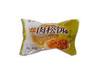 东明年年宏红星牌小肉松饼