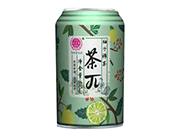 优贝源茶π柚子绿茶310ml