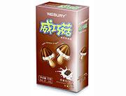 威百利巧克力香草味威巧菇