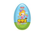 铠乐动漫猪猪侠大嘟嘟铁蛋奶油味造型曲奇曲奇饼干50g(蓝)