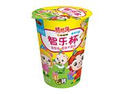 铠乐动漫猪猪侠智乐杯奶油味造型曲奇饼干组合45g(黄)