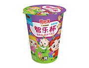 铠乐动漫猪猪侠智乐杯奶油味造型曲奇饼干组合45g(紫)