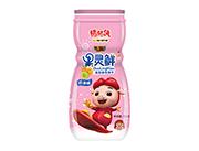 铠乐动漫猪猪侠果灵鲜奶油味造型曲奇饼干100g